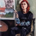 self-portrait of Iwona Zając